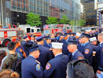 纽约9/11纪念日 - 消防员