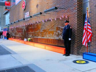 纽约9/11纪念日 - 纪念墙