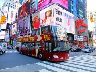 纽约探索家通票和纽约通票的区别 - 随上随下巴士