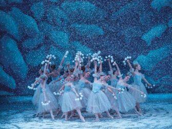 纽约芭蕾舞剧《胡桃夹子》门票 - 雪景