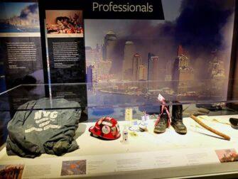 纽约9/11致敬博物馆 - 文物