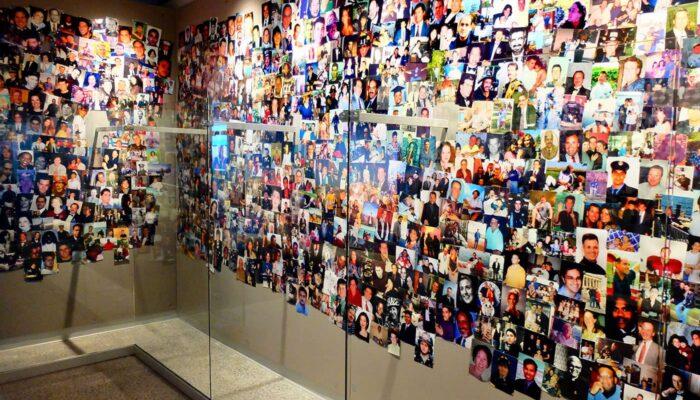 纽约9/11致敬博物馆 - 照片墙
