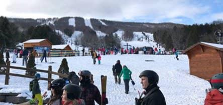纽约附近的滑雪胜地