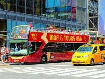 New York Sightseeing Flex Pass 纽约观光随行卡 - 随上随下巴士