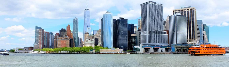纽约游船观光