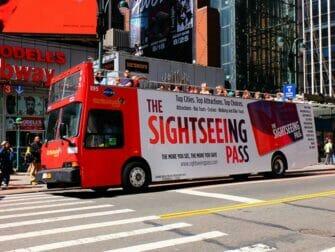 美国多城市折扣通票 - 随上随下观光巴士