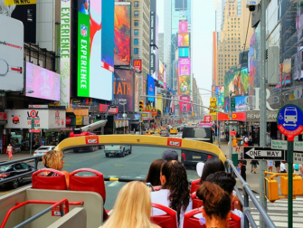 纽约观光天卡和纽约通票的区别 - 随上随下巴士