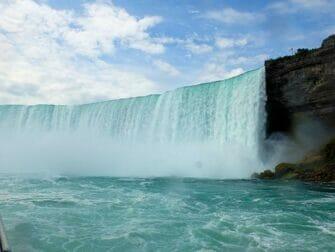 纽约至尼亚拉加瀑布大巴一日游 - 雾中少女号景观