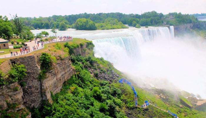 纽约至尼亚拉加瀑布大巴一日游 - 观景台景观