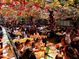 纽约的餐厅 - Birreria屋顶露台
