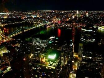 纽约的餐厅 - Manhatta夜景