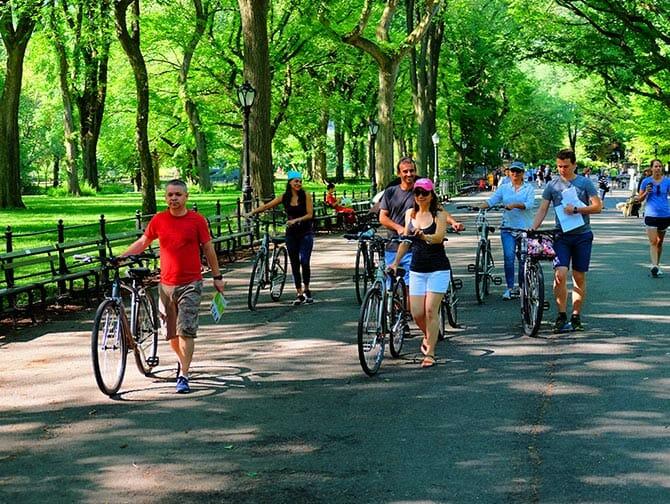 纽约电动车骑行之旅