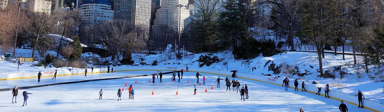 来纽约滑冰