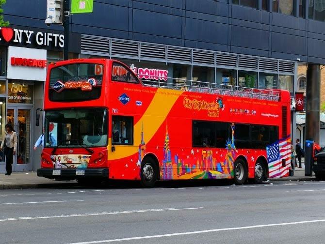 纽约巴士游和景点折扣套票