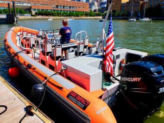 纽约快艇游船之旅 - RIB船