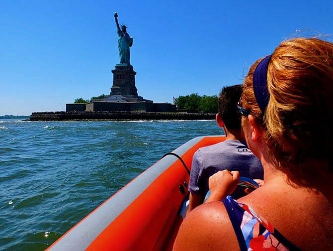 纽约快艇游船之旅