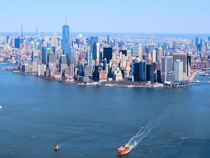 廉价纽约直升机观光之旅