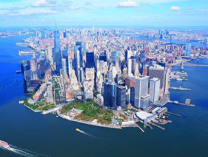 纽约直升机观光之旅