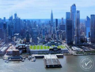 纽约直升机观光之旅 - 飞跃哈德逊