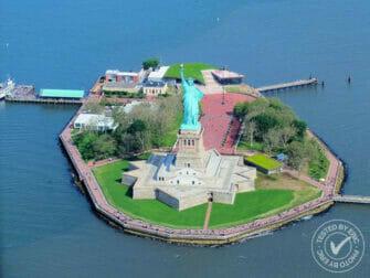 纽约直升机观光 - 自由女神像