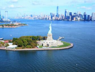 纽约直升机观光之旅 - 自由女神像
