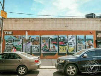 纽约布朗克斯 - 街头涂鸦