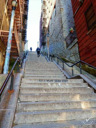 纽约布朗克斯 - 小丑楼梯