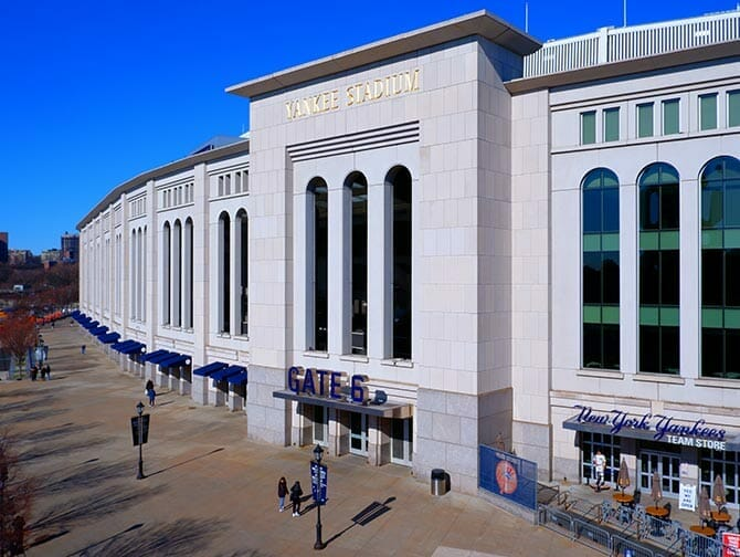 纽约布朗克斯 - 洋基体育场