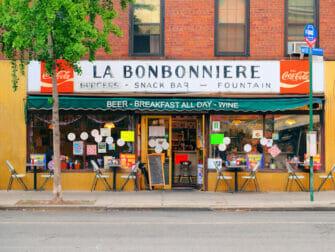 纽约的早餐 - La Bonbonniere