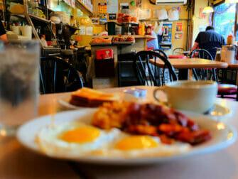 纽约的早餐 - La Bonbonniere早餐