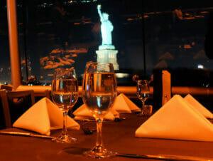 纽约游船晚餐