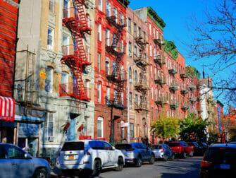 纽约下东区 - 消防楼梯