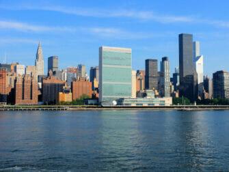 纽约联合国总部 - 联合国大厦