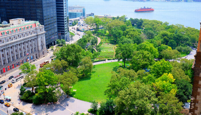 纽约公园精选 - 炮台公园