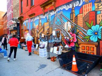 纽约布鲁克林 - 街头