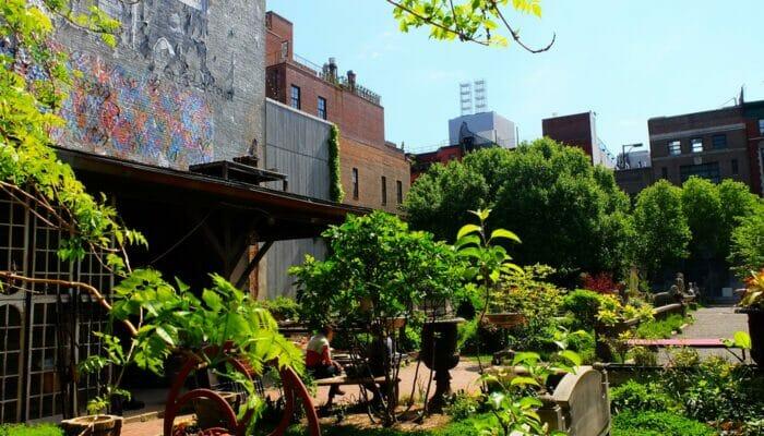 纽约公园精选 - 伊丽莎白街花园