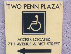 纽约的无障碍设施