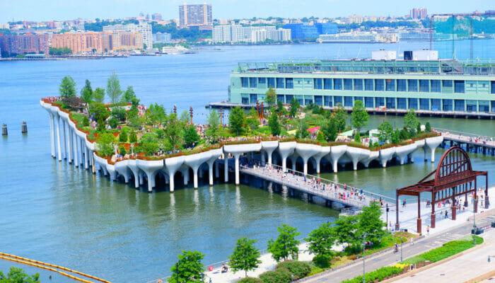 纽约Little Island - 全貌