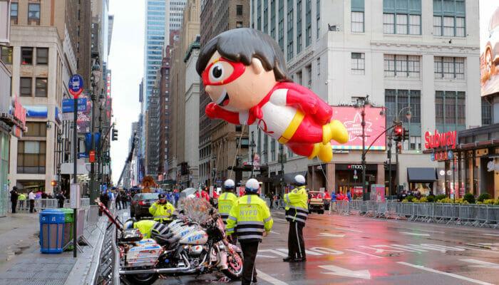 纽约感恩节 - 感恩节游行