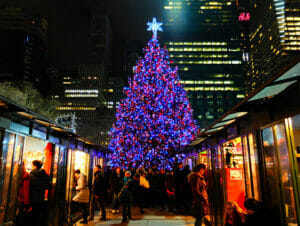 纽约的圣诞市场