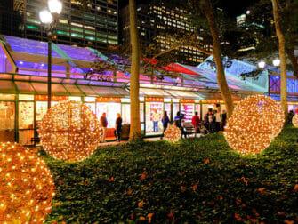 New York Holiday Markets Bryant Park