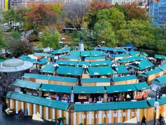 纽约的圣诞市场 - 联合广场