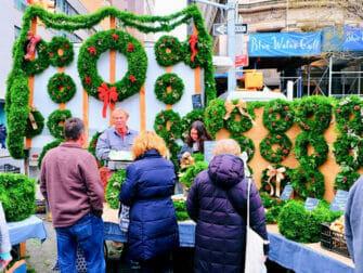 纽约的圣诞市场 - 联合广场圣诞市场