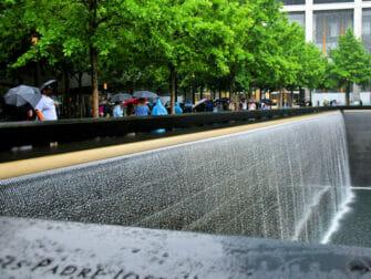 纽约的雨 - 9/11纪念馆