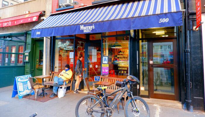 纽约最棒的贝果 - Murray's Bagel