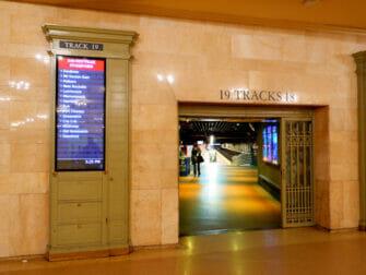 纽约大都会北方铁路 - 中央车站