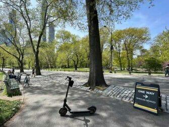 纽约电动滑板车租赁 - 中央公园