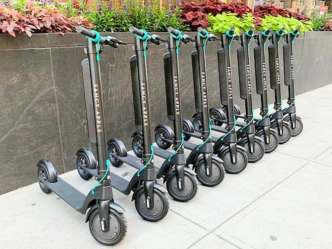 纽约电动滑板车租赁