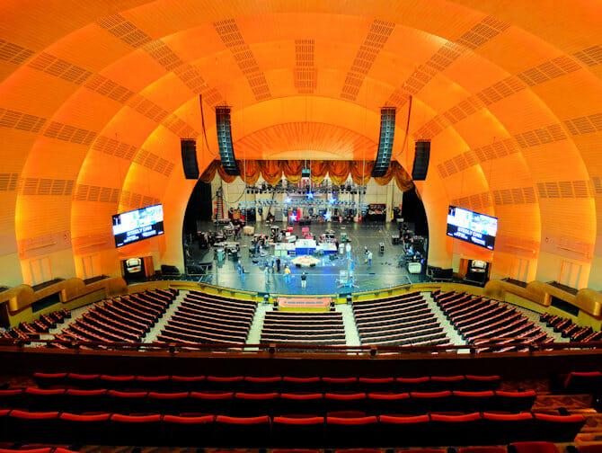 纽约无线电城音乐厅