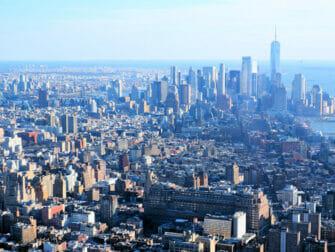 纽约最棒的汉堡 - Peak的景观